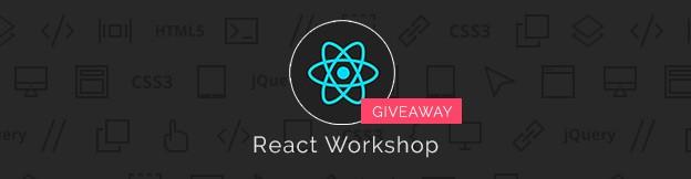 React Workshop Giveaway
