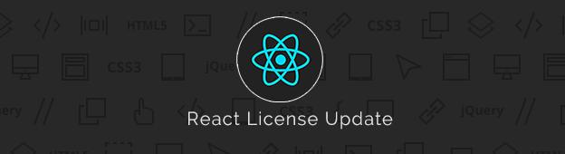 React License Update