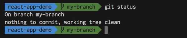 Git clean branch