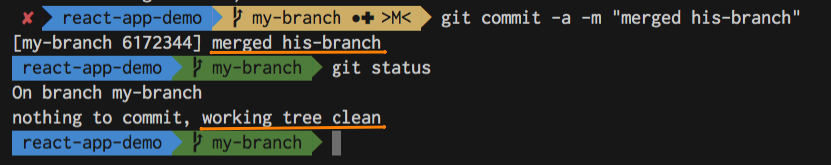 Git conflict resolved